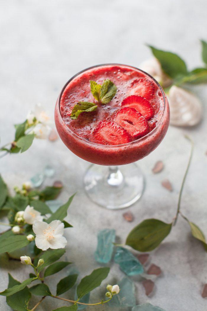 Iced Strawberry Slush